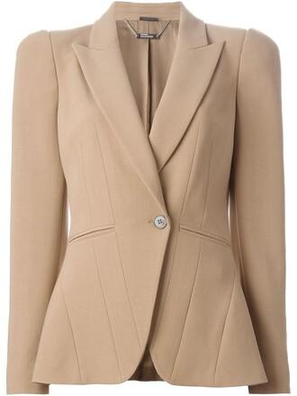 blazer brown jacket