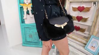 bag black bag mini bag