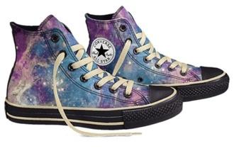 shoes galaxy converse galaxy allstars converse galaxy print