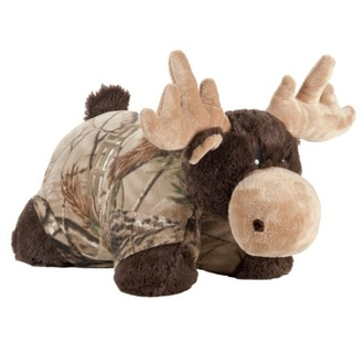 pillow pet camouflage cute moose pillow moose pillow pet pillowpet pillow moose stuffed animal deer