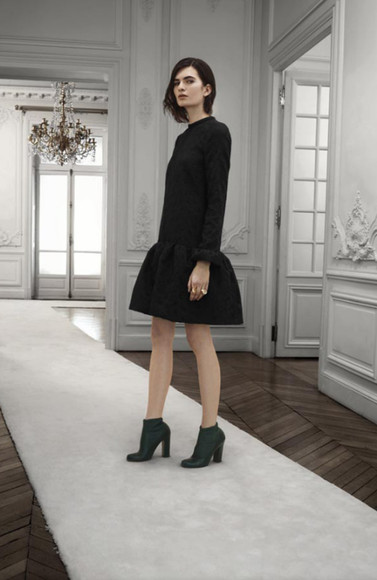 chloé fashion lookbook dress shoes