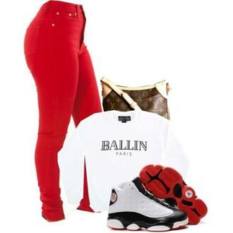 jacket skinny pants skinny jeans balln jordans leggings red lime sunday