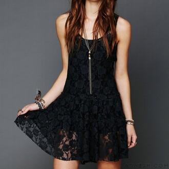 dress fashion women lace lace dress