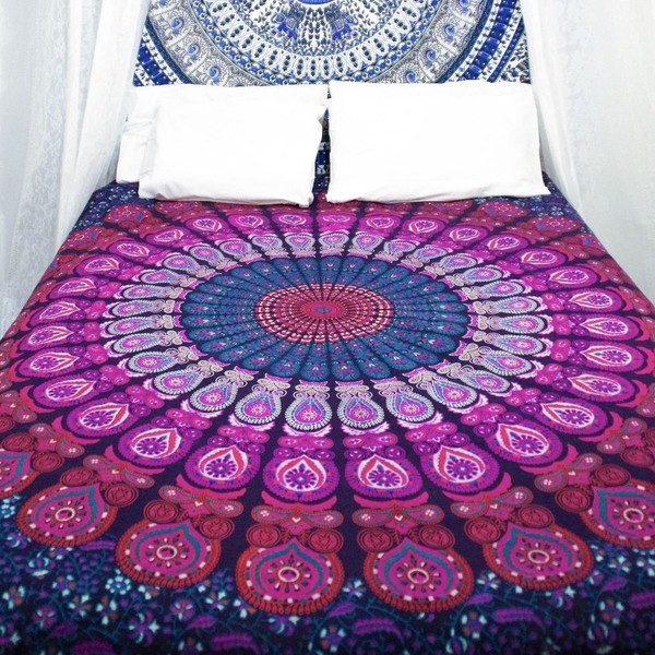 home accessory tapestry dorm tapestry magical night star mandala tapestry