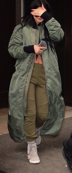 coat kylie jenner flight bomber jacket pants