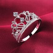 jewels,ring,tiara,crown,jewelry,diamonds,Accessory,sterling silver