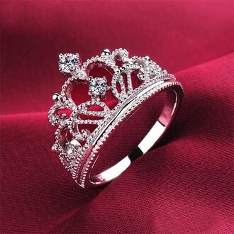 jewels ring tiara crown jewelry diamonds accessory sterling silver