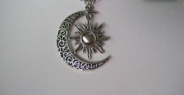 jewels sun sun and moon necklace moon moon and sun style necklace trendy necklace
