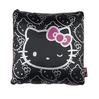 home accessory hello kitty black cute pillow