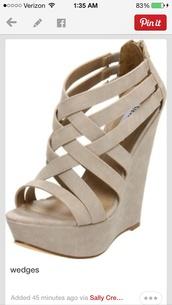 shoes,wedges,cute dress,top