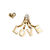 HEART AND LOVE EARRING SET - Rings & Tings | Online fashion store | Shop the latest trends
