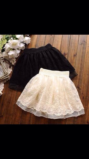 skirt black skirt white skirt