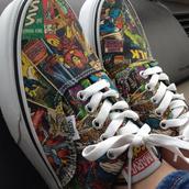 shoes,marvel,tennis,cute,vans,spiderman,hulk,thor,superheroes,comicas,comic vans,marvel superheroes,vans of the wall,The Avengers,girls shoes,girl,colorful,marvel vans,keds