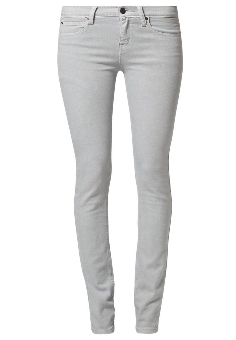 People's Market SKINNY JEANS - Slim fit jeans - grey - Zalando.co.uk