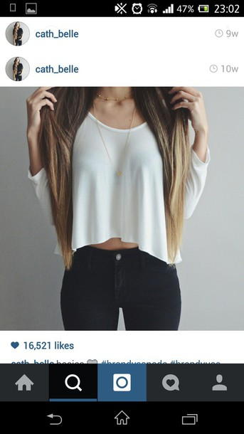 sweater white top casual