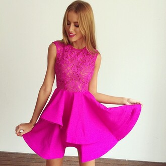 dress pink dress prom dress pink prom dress mura boutique muraboutique outfit party outfits formal event outfit dress like new girl new girl cool modest dress modern dresses party dress sexy party dresses short party dresses cute dress peplum see through lace dress lace top fashion style neon