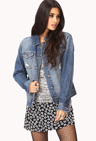 Forever Cool Denim Jacket | FOREVER21 - 2000111859