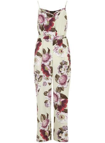 Luxe botanic print jumpsuit - Sale