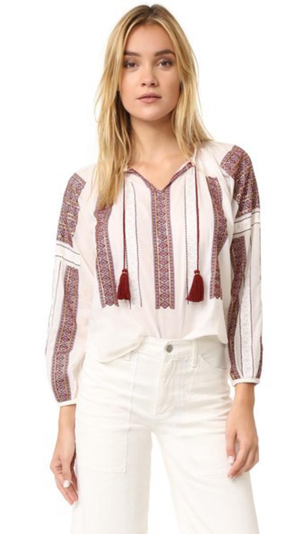 Блузка В Деревенском Стиле Купить
