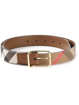 women belt leather nude cotton
