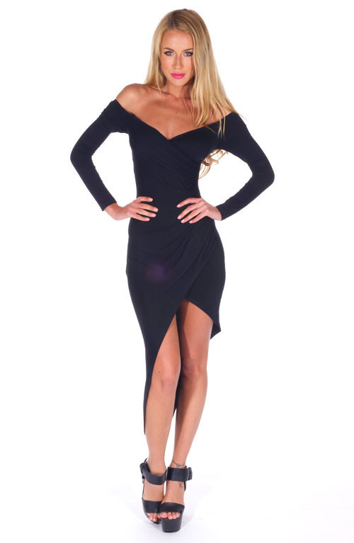 """""""deal breaker"""" maxi jersey dress (2 colors available) – glamzelle"""