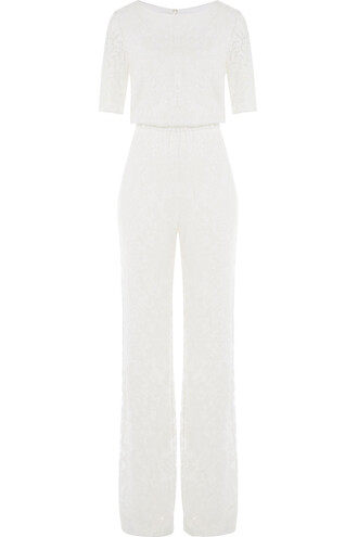 jumpsuit lace white