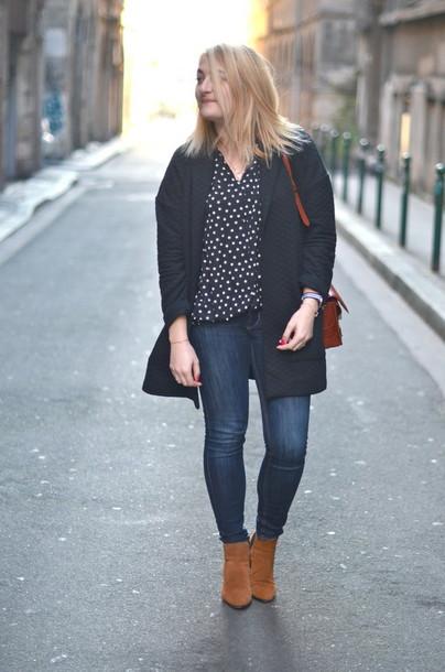 paris grenoble blogger blouse shoes