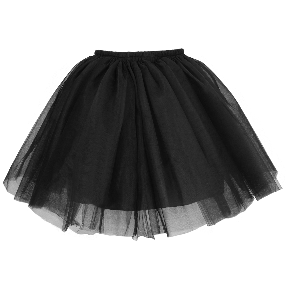 Tulle Mini Skirt - Black | Style Icon`s Closet