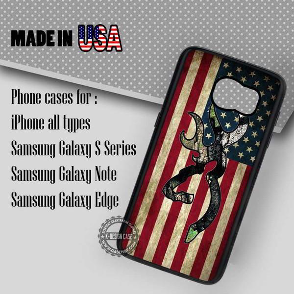 phone cover browning deer flag