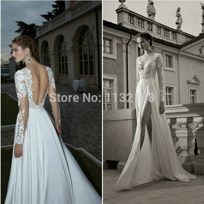 Aliexpress.com : Buy Sexy White Lace Sweetheart Chiffon High slit Prom dresses gowns,Elegant formal evening dresses,Women's party dresses prom dress from Reliable dress patterns prom dresses suppliers on Making your dreaming dress!