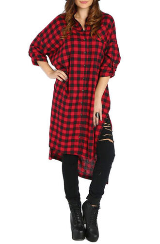 dress flannel checkered