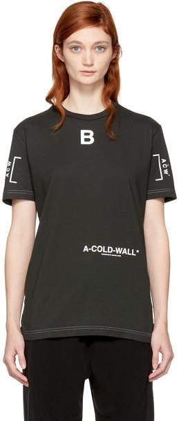 A-cold-wall* t-shirt shirt t-shirt grey top