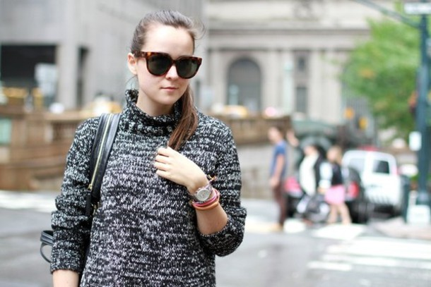 andy style scrapbook grey sweater