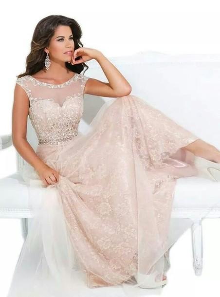9b0ae0876860 dress light pink dress sparkle beaded long dress long dress beaded sequins  prom shoes high heels