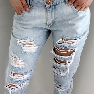 pants tumblr blue jeans tumblr style ripped jeans