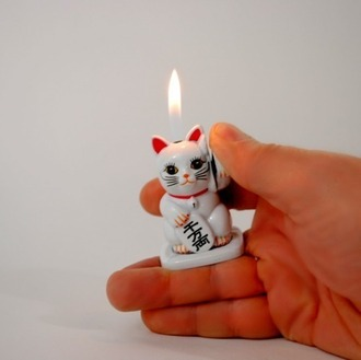 jewels lighter lucky cat chinese lucky cat cats chinese writing home decor