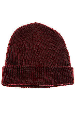 The Fold Beanie in Maroon on Wanelo