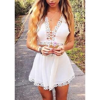 shirt white mini ; white; strass white shoes lace white white ruffles ruffle dress spliced sleeveless dress bust skirt spliced suit white two piece two piece swimwear tops shirts