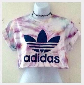 t-shirt grunge grunge t-shirt adidas tumblr festival tie dye soft grunge