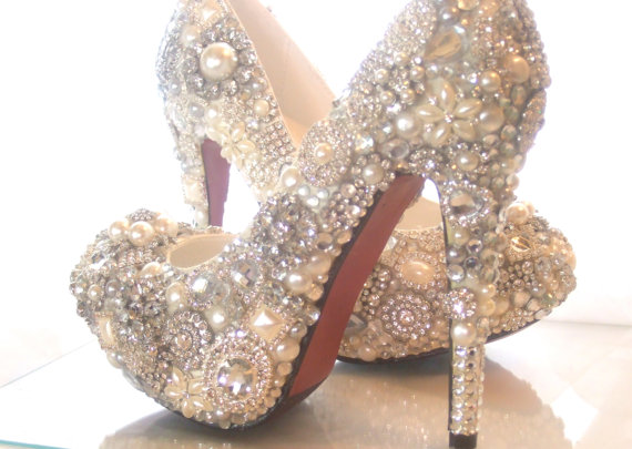 Cinderellas Wish... crystal glass and by everlastinglifashion
