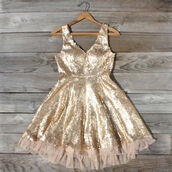 dress,gold,glitter