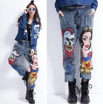 jeans snowwhite disney