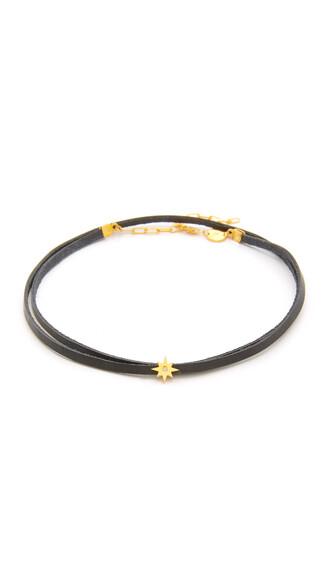 necklace choker necklace wrap choker gold black jewels