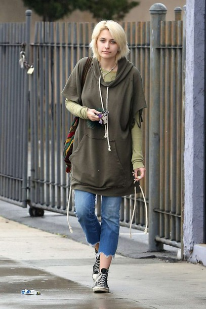 sweater hoodie jeans sneakers paris jackson streetstyle oversized sweater oversized. Black Bedroom Furniture Sets. Home Design Ideas