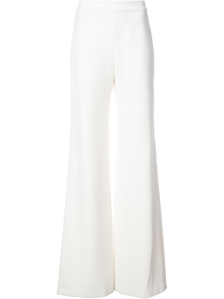Marchesa women white silk pants