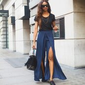 symphony of silk,blogger,pants,t-shirt,bag,jewels