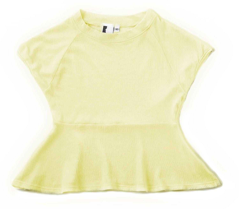 Amazon.com: louie girl's peplum top: blouses: clothing