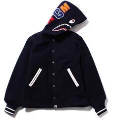 Shark varsity jacket