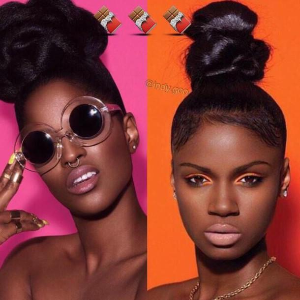 sunglasses black girls killin it