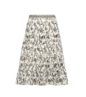 skirt floral cotton